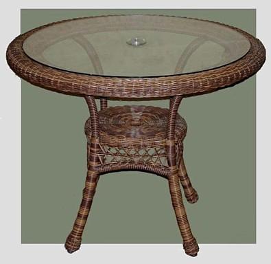 Venetian Outdoor Aluminum Dining Table | BuyOutdoorFurnitureOnline